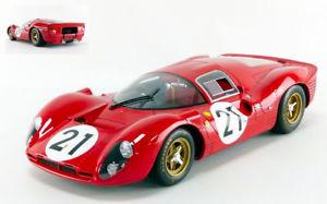 【送料無料】模型車 スポーツカー フェラーリ#モデルferrari 330 p4 21 2nd lm 1967 l scarfiottim park 112 model cmr