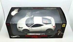 【送料無料】模型車 スポーツカー ホットホイールエリートフェルナンドアロンソフェラーリイタリア118 hot wheels elite fernando alonso ferrari 458 italia 3125000