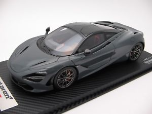 【送料無料】模型車 スポーツカー スケールマクラーレンシケイングレー118 scale tecnomodel mclaren 720s chicane grey 2017 t18ex06e