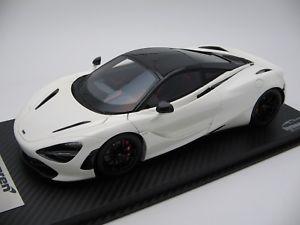【送料無料】模型車 スポーツカー スケールマクラーレンパールホワイト118 scale tecnomodel mclaren 720s pearl white 2017 t18ex06b