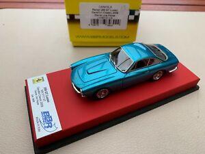 【送料無料】模型車 スポーツカー フェラーリグアテマラカヴァッリーノクラシックレッドレザーbbr ferrari 250 gt lusso ch 5117gt cavallino classic 2009 143 red leather