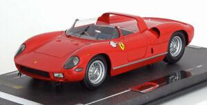 【送料無料】模型車 スポーツカー フェラーリレッド118 bbr ferrari 250 p 1963 red