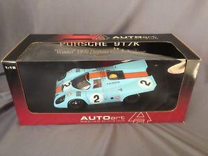 【送料無料】模型車 スポーツカー porsche 917k winner 24 1970daytona h 118 autoart ロドリゲスkinnunen gulfporsche 917k winner 1970 daytona 24 h 118 autoart