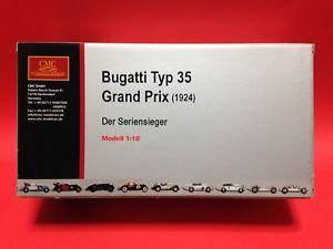 【送料無料】模型車 スポーツカー ブガッティグランプリbugatti gran prix 1924 m063 118 cmc