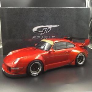 送料無料 一部予約 模型車 スポーツカー ポルシェ993 rwbキャンディーアジア112 gtkj019 le300porsche 贈答 993 rwb candy edition gt 112 le 300 red spirit exclusive kj019 asia
