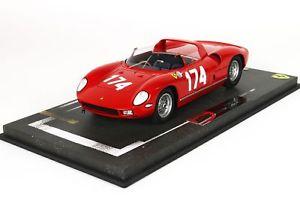【送料無料】模型車 スポーツカー フェラーリタルガフローリオ#サーティースパークスモデルferrari 250 p targa florio 1963 174 surtees parkes bbr 118 bbrc 1826f model
