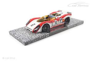 【送料無料】模型車 スポーツカー ポルシェスパイダーキロニュルブルクリンクリンスporsche 90802 spyder 1000 km nrburgring 1969 lins attwood 1 of 500 1