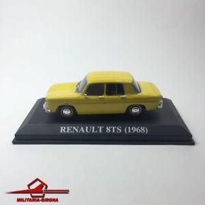 【送料無料】模型車 スポーツカー ルノーネットワークボックスrenault 8ts 1968 yellow altaya ixo 143 scale no box