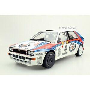 【送料無料】模型車 スポーツカー ランチアデルタマティーニlancia delta hf integrale 16v martini winner montecarlo 1992 aurioloccelli 118