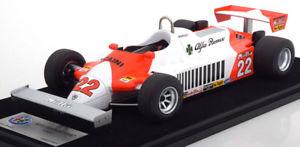 【送料無料】模型車 スポーツカー スマートアルファロメオグランプリドイツアンドレッティ118 look smart alfa romeo 179c gp germany andretti 1981