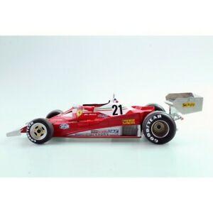 【送料無料】模型車 スポーツカー フェラーリジルヴィルヌーヴサーキットferrari 312 t2 1977 gilles villeneuve 118