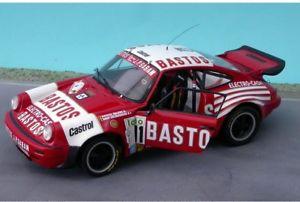 【送料無料】模型車 スポーツカー 124porsche 911 csisバストスsnijers ypres 2eマウント124 porsche 911 csis bastos snijers ypres 2e sold mounts