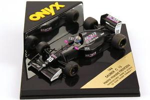 【送料無料】模型車 スポーツカー ザウバーブローカーハインツハラルドオニキス143 sauber c13 formula 1 1994 broker nr30 heinzharald frenzen onyx 194