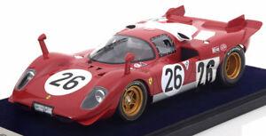 【送料無料】模型車 スポーツカー 118フェラーリ512 s2624hデイトナ1970118 look smart ferrari 512 s 26, 24h daytona 1970
