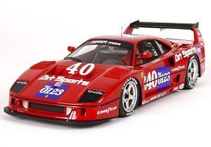 【送料無料】模型車 スポーツカー フェラーリf40チーム40 imsaトピーカ1990 jpjabouille bbr 118 p18139cferrari f40 team art sports 40 imsa topeka 1990 jpjabouille bbr 118