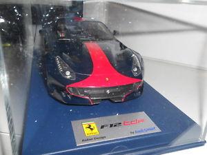 送料無料 模型車 スポーツカー フェラーリカラーリングスケールlooksmart ferrari f12 数量は多 tdf blue scale 高価値 31019398 red 118 wells with livery