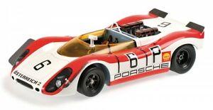 【送料無料】模型車 スポーツカー ポルシェスパイダーキロニュルブルクリンクporsche 90802 spyder 6 1000 km nrburgring 1969 linsattwood