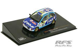 【送料無料】模型車 スポーツカー チームラリーモンテカルロ143 subaru vivio rxr team fina rally barthrally monte carlo 1999