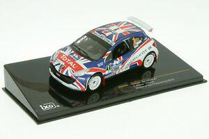 【送料無料】模型車 スポーツカー プジョーラリーアソーレスラリー143 peugeot 207 s2000meeke rally acores 2010 143 rally ram 442