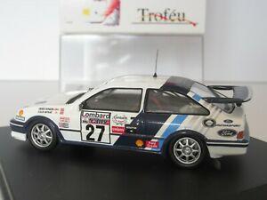 【送料無料】模型車 スポーツカー フォードシエラコスワースラリースケールコリンマクレーtrofeu, ref 118, ford sierra cosworth, rac rally 1989, 143 scale, colin mcrae