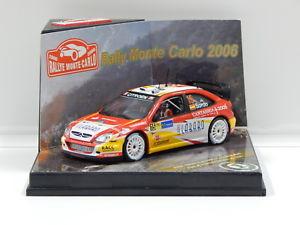 【送料無料】模型車 スポーツカー シトロエンクサラモンテカルロラリーソルドマルティ143 citroen xsara wrc 2006 rallye monte carlo dsordommarti 15 vitesse 4