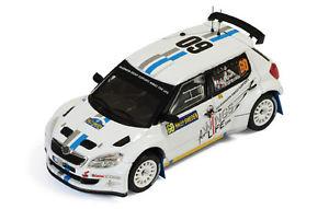 【送料無料】模型車 スポーツカー シュコダファビア#スウェーデンモデルネットワークモデルskoda fabia s2000 60 11th sweden 2012 ogieringrassia 143 model ixo model