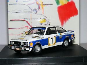 【送料無料】模型車 スポーツカー trofeu 1019フォードエスコートmkii rs18001977サファリ1 143trofeu 1019 ford escort mkii rs1800 winner 1977 safari rally 1 143