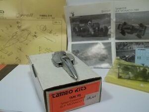 【送料無料】模型車 スポーツカー キットティレルコスワースモナコtameo kit, sc143 tyrrell cosworth 018 monaco gp 1989