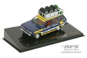 【送料無料】模型車 スポーツカー フィアット131パノラマサービスオリオチームwmアレンレール143 ixo rac268fiat 131 panorama service olio rally team rally wm alen rhrl 143 ixo rac 268