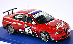 【送料無料】模型車 スポーツカー アルファロメオ#alfa romeo 156 gta wtcc 2007 16 otielemans red 143 m4