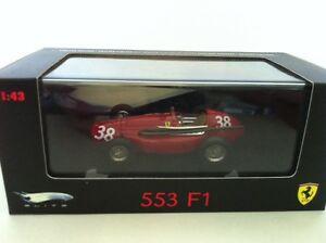 【送料無料】模型車 スポーツカー ホットホイールエリートフェラーリスペイン#hot wheels elite ferrari 553 squalo hawthorn 1st spain n5586 38