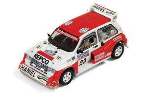 【送料無料】模型車 スポーツカー メトロサイズ#ラリーモデルネットワークモデルmg metro size 4 23 retired rac rally 1986 teesdalehorne 143 model ixo model