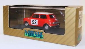 【送料無料】模型車 スポーツカー スケールモデルカーモーリスクーパー#モンテカルロvitesse 143 scale model car l024 morris cooper s 52 monte carlo winner 1965
