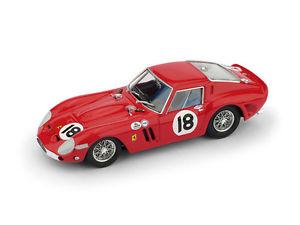 【送料無料】模型車 スポーツカー フェラーリ#デイトナペドロロドリゲスモデルferrari 250 gto 18 winner 3h daytona 1963 pedro rodriguez 143 brumm model