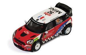 【送料無料】模型車 スポーツカー ミニジョンクーパー52 7montecarlo 2012カンパーナdeカステッリ143モデルmini john cooper works 52 7th montecarlo 2012 campanade castelli 143 model
