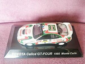 【送料無料】模型車 スポーツカー celica ラリーカートヨタセリカグアテマラモンテカルロ164 cms rally car figure col no ss6 figure toyota celica gtfour no 1 1995 monte carlo, ジャンプファミリー:1bc2d29e --- sunward.msk.ru