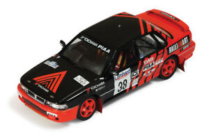 【送料無料】模型車 スポーツカー mitsubishi3815rac 1991143 ixo rac221モデルmitsubishi galant 38 15th rac 1991 taguchiyamauchi 143 ixo rac221 model