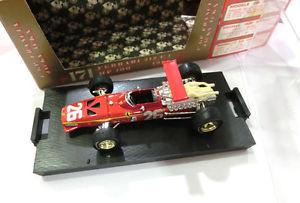 【送料無料】模型車 スポーツカー フェラーリ312 f1 1968フランスジャッキーイクス143brumm serie