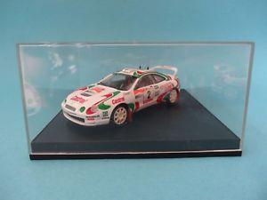 【送料無料】模型車 スポーツカー トヨタcelica gt 42 kankkunen 2 oportugal 1995143trofeu 705toyota celica gt four 2 kankkunen 2 rally portugal 1995 143 trofe