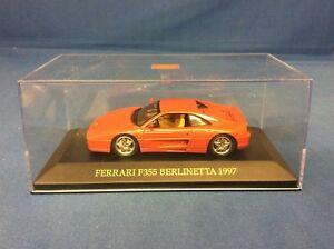 【送料無料】模型車 berlinetta スポーツカー フェラーリferrari f355 fer015 berlinetta red 1977 143 f355 fer015, TEANY(ティーニー):666cd26b --- sunward.msk.ru