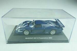 【送料無料】模型車 スポーツカー ネットワークマセラティマセラティクーペプレゼンテーションボックスmoc043 ixo 143 maserati mc 12 coupe presentation 2004 with box 509741