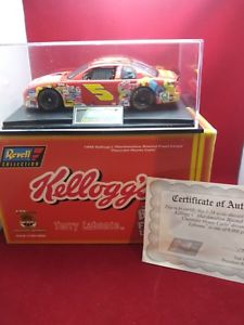 【送料無料 car】模型車 labonte スポーツカー ケロッグ1998テリーlabontenascarダイカストkelloggs 1998 terry labonte edition signed limited edition nascar diecast replica car, ラッキークラフト:115fbd4c --- sunward.msk.ru