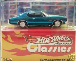 【送料無料】模型車 スポーツカー ホットホイールアメリカンクラシックスhot wheels american classics 143 1970 chevelle ss 454