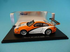 【送料無料】模型車 スポーツカー ポルシェグアテマラハイブリッドスパークporsche 911 997 gt3 rhybrid 2010 143 spark s2088