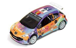 【送料無料】模型車 スポーツカー プジョー207s20009 loixロビンイーペル2008ram333 ixo 143 peugeot 207 s2000 9 loixrobin winner rally ypres 2008 ram333 ixo 143