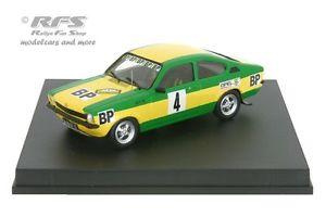 【送料無料】模型車 スポーツカー オペルラリーピステopel kadett gte rallye mille pistes 1000 1976clarr 143 trofeu tr 2102