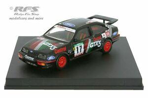 【送料無料】模型車 スポーツカー フォードシエラコスワースラリーポルトガルサントスford sierra rs cosworth rally portugal 1990 santos 143 trofeu 0114