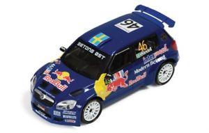 【送料無料】模型車 スポーツカー シュコダファビアレッドブルラリーノルウェーデル143 skoda fabia s2000 red bull rally norway 2008  psandell