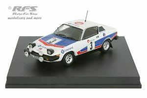 【送料無料】模型車 スポーツカー ラリーデスパtriumph tr7 v8 rally boucles de spa 1977pondgallagher 143 trofeu 2004