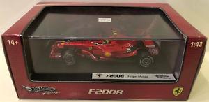 【送料無料】模型車 スポーツカー レーシングフェラーリ#フェリペマッサhotwheels racing 143 ferrari f2008 2 felipe massa